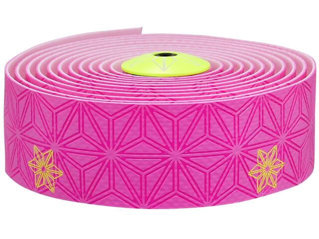 Supacaz Super Sticky Kush Galaxy Lenkerband neon pink neon gelb print